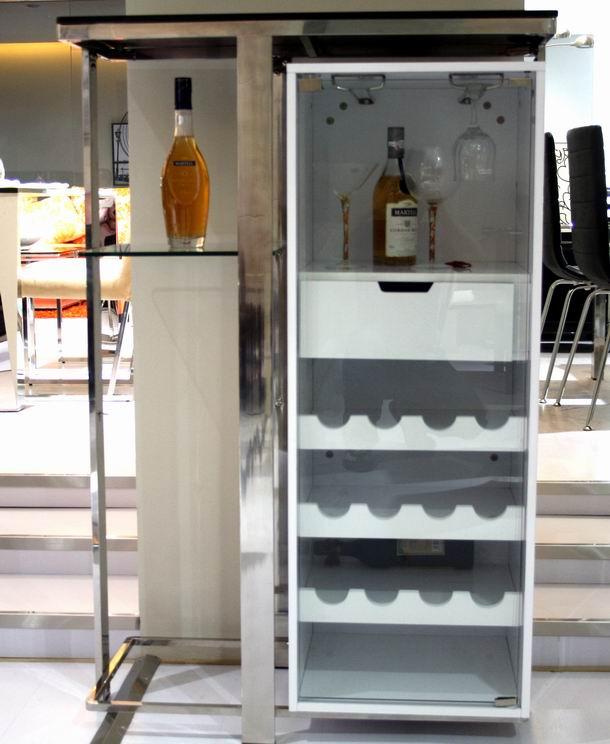 冰箱柜酒柜一体设计图展示