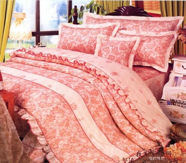金秋神韵欧式床品床罩四件套
